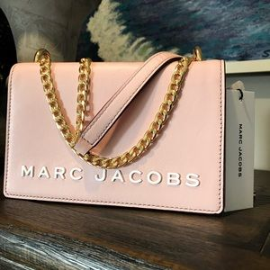 NWT Marc Jacobs Small Chain-strap Crossbody, Rose